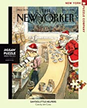 New York Puzzle Company - New Yorker Santa's Little Helpers - 1000 Piece Jigsaw Puzzle