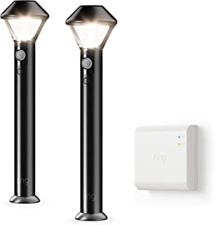 Ring Smart Lighting – Pathlight – Black (Starter Kit: 2-pack)
