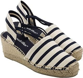 2 Espadrilles from Barcelona - Sandals Shoes Handmade in Spain - Espadrilles Heel Marina