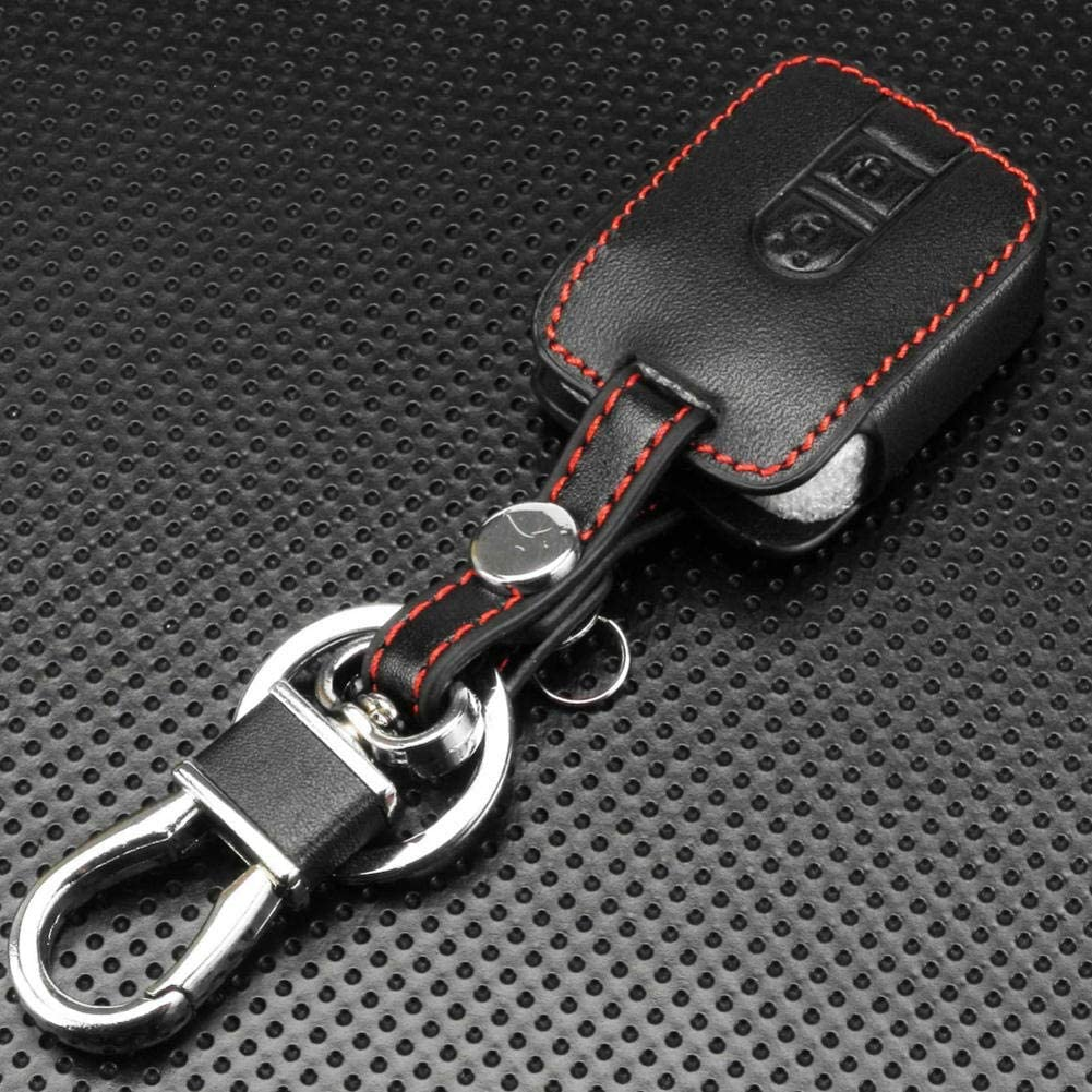 Car Sale special price Key San Francisco Mall Protection Cases 2 Cover Leather Remote Buttons