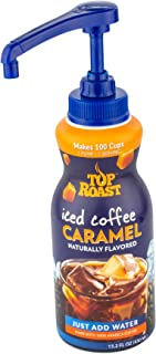 Top Roast Caramel Iced Coffee Concentrate | 15.2 Ounce Pump Bottle | Makes 100 Cups or 12 Pitchers…