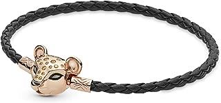pandora woven leather bracelet