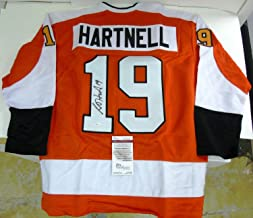 Scott Hartnell Autographed Signed/Autographed Signed Custom Flyers Jersey with Memorabilia JSA