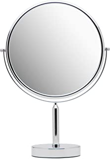 Mirrorvana XXLarge 11-Inch Oversized Magnifying Makeup Mirror with Stand, Double Sided 3x/1x Magnification, 17