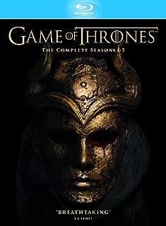 Game of Thrones - Season 1-5 Slimline Region Free