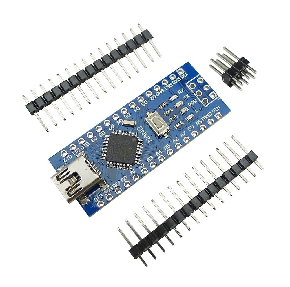 微生物住居直径KKHMF Mini USB Nano V3.0 ATmega328P CH340G 5V 16M マイクロコントローラーボード モジュールArduinoと互換