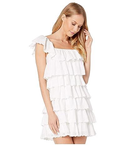 Show Me Your Mumu Lucy Mini Dress (White Eyelet) Women