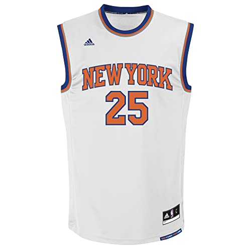 NBA New York Knicks Derrick Rose #25 Mens Home Replica Jersey, XX-Large