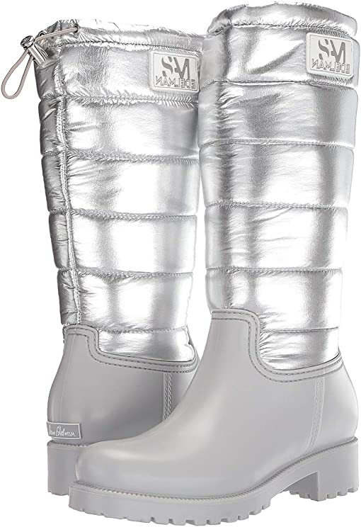 Lunar Grey/Soft Silver Waterproof Matte PVC/Waterproof Metallic