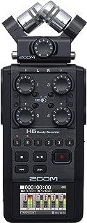 ZOOM ズーム 2020モデル リニアPCM/IC マイクカプセル交換型 ハンディレコーダー【メーカー3年延長保証付】 H6 BLACK