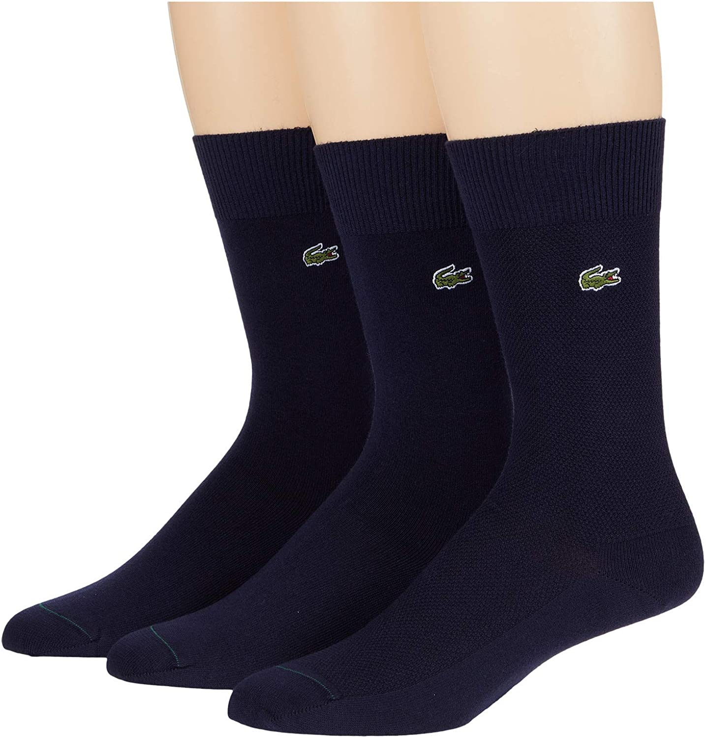 Lacoste Solid Jersey Pique Tube Socks