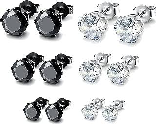 36 Paires//Ensemble Boucles D/'Oreilles Puces Femmes Filles Cristal Faux-Diamants