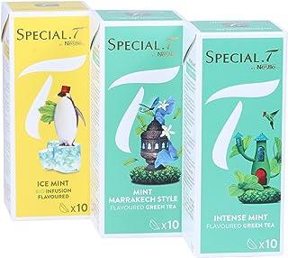 Special.T – Mint Mix – Biokräuter- und Grüntees 3 Sorten à 10 Kapseln