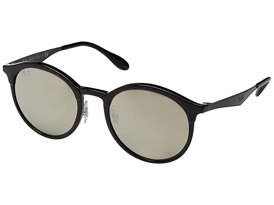 Ray-Ban RB4277 Emma 51mm (Black/Gold Mirror) Fashion Sunglasses