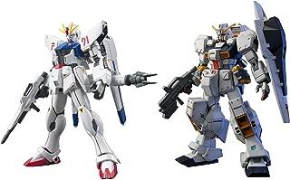 2 Bandai Gundam Model Sets - HGUC RX121-1 TR-1 Hazel Custom and F91 EFSF Prototype Attack (Japan Import)
