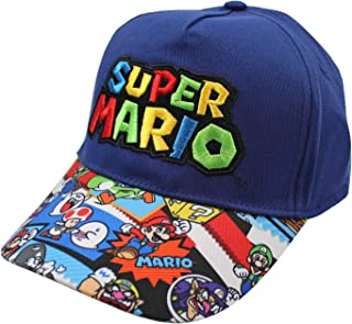 Accessory Innovations Super Mario Embroidered Scenes Youth Adjustable Snapback Hat