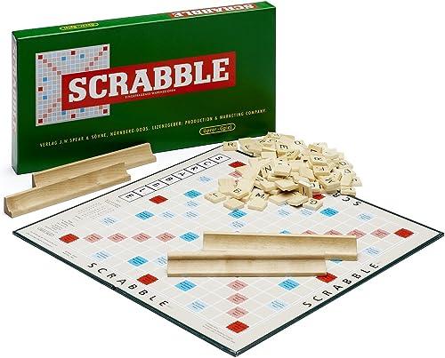 Scrabble Jubil sspiel mit Holzsteinen