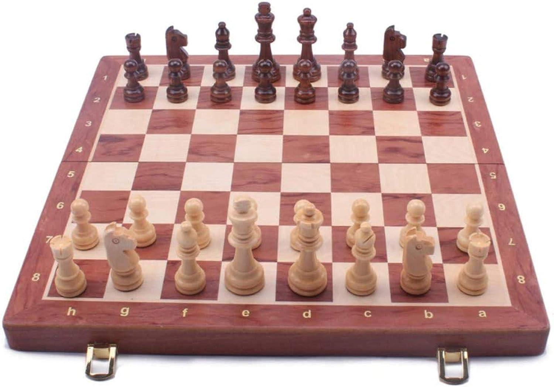 YEYUTF Professional Chess Set Arlington Mall unisex Folding Portable Board