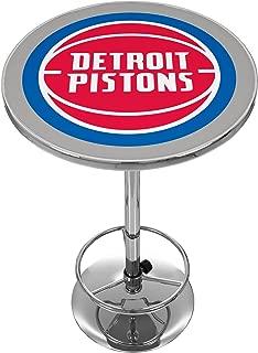 NBA Detroit Pistons Chrome Pub Table