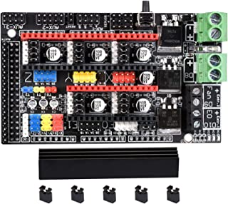 Ramps 1.6 Plus Expansion Board Upgraded Control Board Base on Ramps 1.6/1.5/1.4 Support TMC2130 TMC2208 DRV8825 A4988 Driv...
