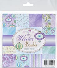 Wild Rose Studio Winter Bauble Ltd. Paper Pack, 6
