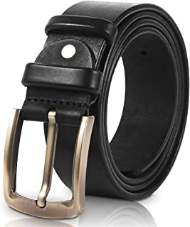 Men's Leather Belt Heavy Duty Full Grain Cowhide