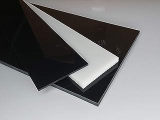 Plaat van POM, 500 x 100 x 20 mm natuur (wit) gesneden oud-intech®