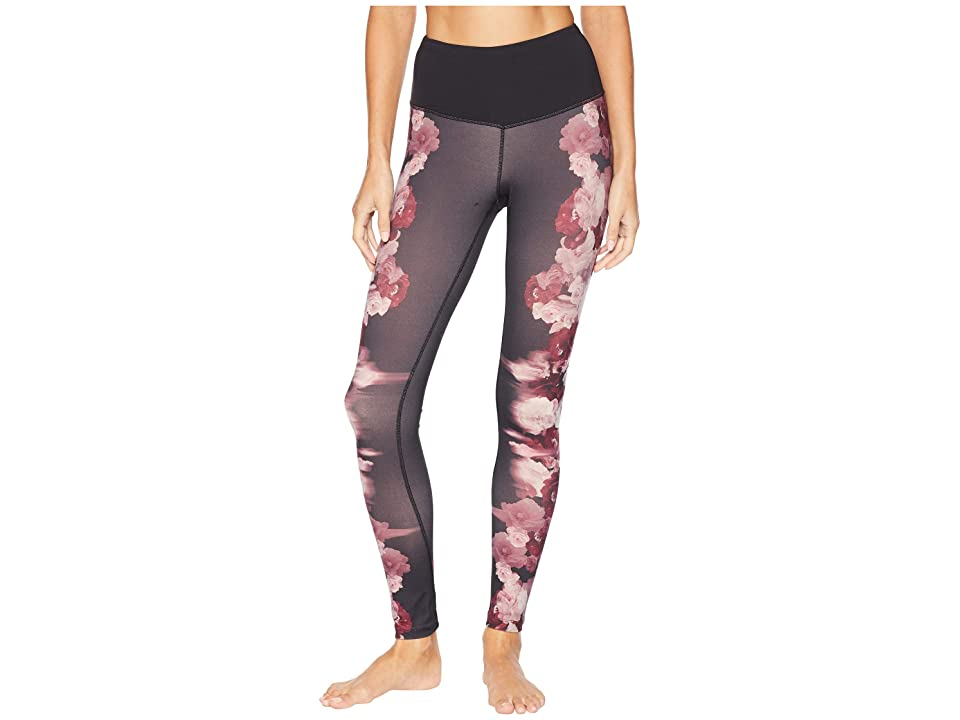 The North Face Motivation Printed High-Rise Tights (TNF Black Peony Print) Women