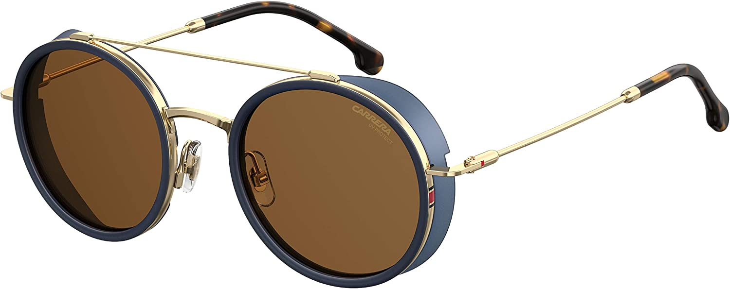 CARRERA SUNGLASSES 167 S KY2 70 gold blueE LENSES UV 400 PredECTION