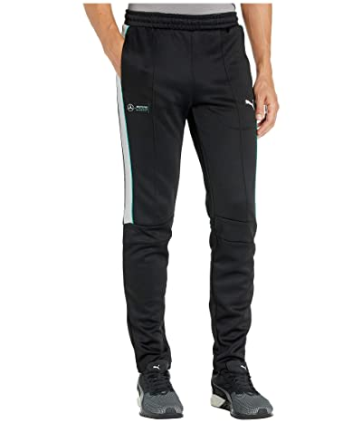 PUMA Mercedes AMG Petronas T7 Track Pants (PUMA Black) Men