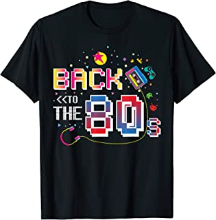 80er Jahre Shirt für 80s Retro Party Back to the 80s