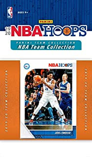 Philadelphia 76ers 2019 2020 Hoops Basketball Factory Sealed 8 Card Team Set with Joel Embiid, Ben Simmons and Tobias Harris Plus