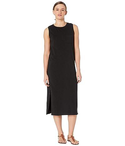 Lilla P Flame Modal Long Tank Dress (Black) Women