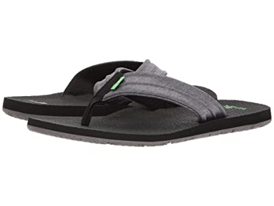 Sanuk Land Shark (Charcoal/Grey) Men