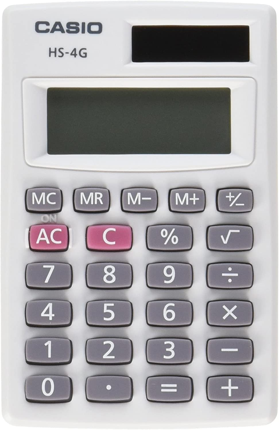 Casio HS-4G National products Handheld Minneapolis Mall Calculator Small Solar