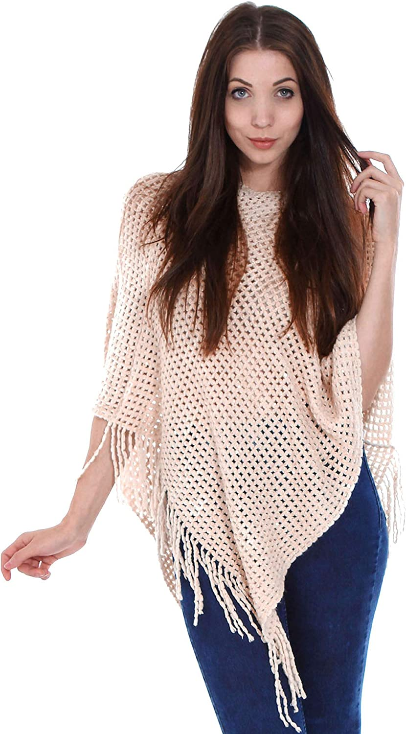 EPGM Pullover Sweater free shipping Women's Knitted Cape w Sequin Popular products Shawl Poncho