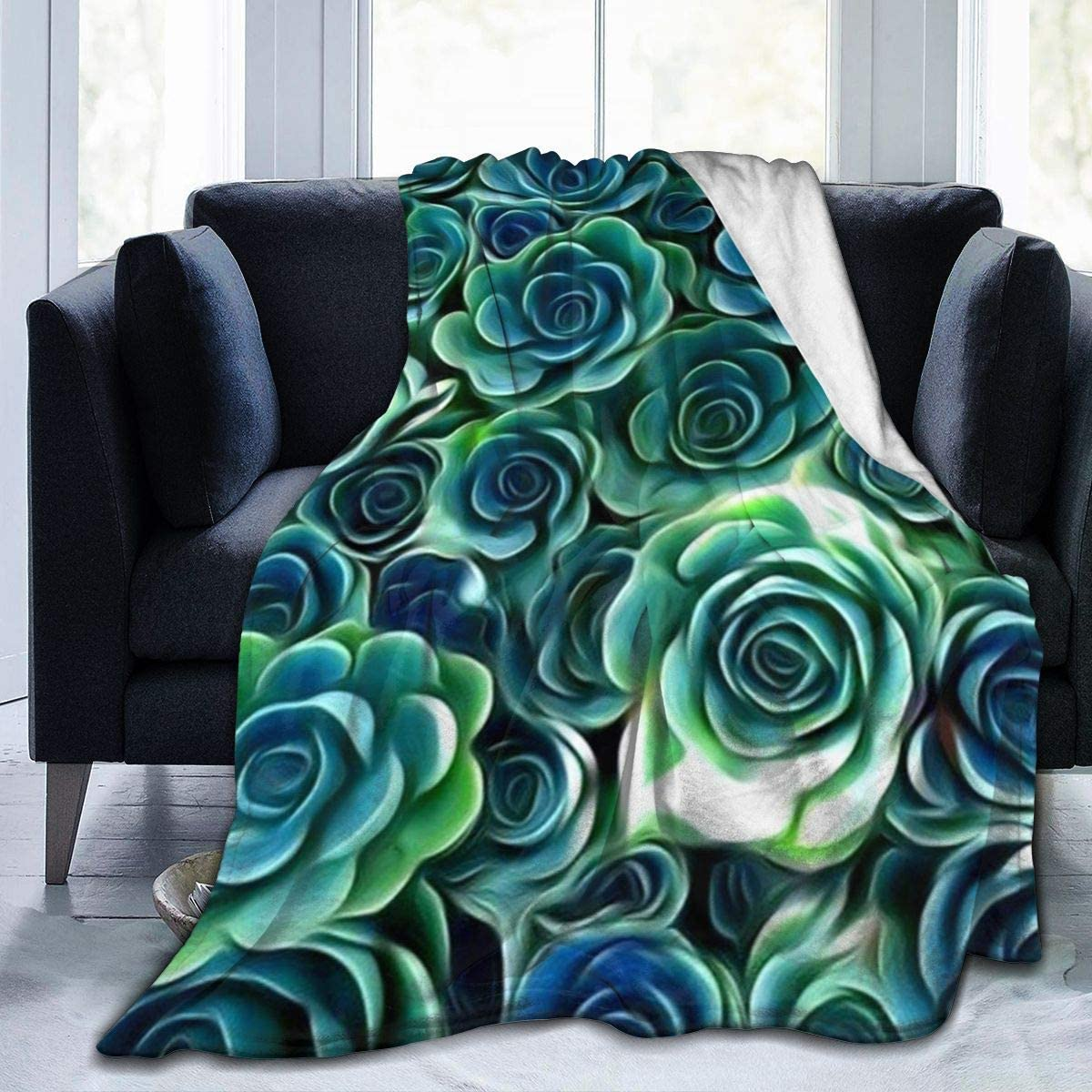 Ultra-Soft Warm Fleece Throw Comfortable Decorative Ligh Blanket NEW New sales before selling