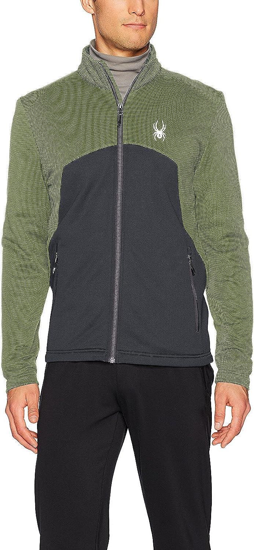 Spyder Men's Capitol Full Zip Hard Face Fleece Jacket