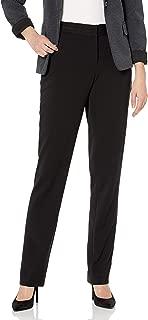 Women's Curvy Fit Gabardine Slim Leg Pant