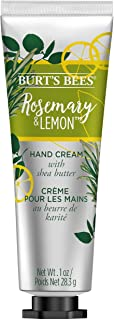 Burts Bees Rosemary & Lemon Hand Cream with Shea Butter, 1 Oz (Package May Vary)