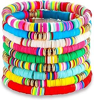 PHALIN Heishi Bead Bracelets for Women