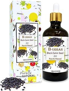 B-URBAN Black Cumin Seed Oil 100% Natural Pure Undiluted Uncut Carrier Oil 100ml