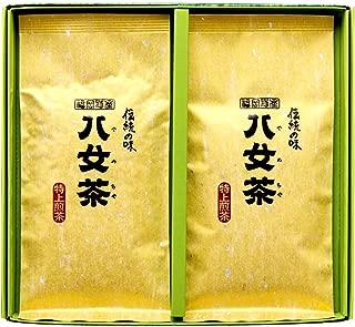 岩﨑園製茶 新茶 2019年産 福岡県産 八女茶 特上煎茶 100g × 2袋 ギフト セット