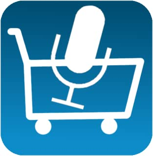 Shopping list with voice input