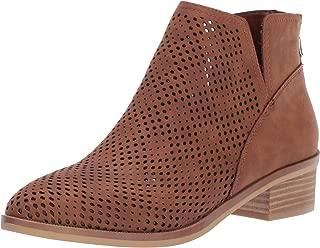Madden Girl Women's Tally Ankle Boot tan Nubuck 10 M US