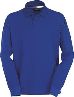 BRANDIT Camicia uomo casual quadri militare in cotone CHECK SHIRT Blue