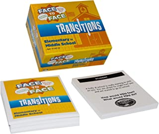 Face to Face Transitions Kids Card Game (Elementary to Middle School Edition) – Communication Development for Important Life Transitions, Ages 10 and Up