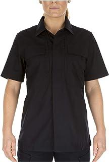 5.11 Tactical Women's Taclite TDU Uniform Work Short-Sleeve Button-Up Shirt, Ripstop Fabric, Style 61025