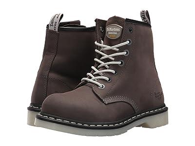 Dr. Martens Work Maple Steel Toe 7-Eye Boot (Grey) Women