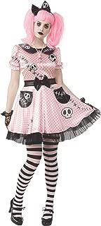 Pale Pink Skelly Ladies Costume
